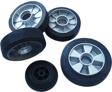 Best seller rubber wheels
